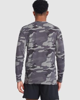 RVCA Sport Vent Short Sleeve Top - Long Sleeve T-Shirts (CAMO)