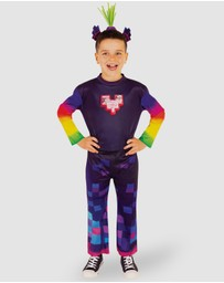 Rubie's Deerfield - King Trollex 2 Deluxe Costume - Kids