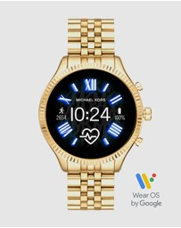 Michael Kors - Lexington 2 Gold-Tone Smartwatch