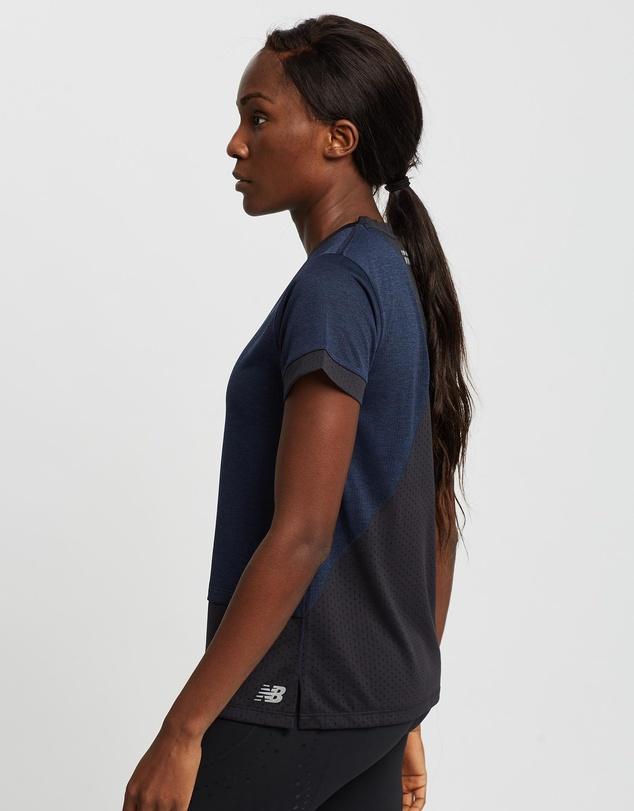 Women Impact Run Hybrid Short Sleeve