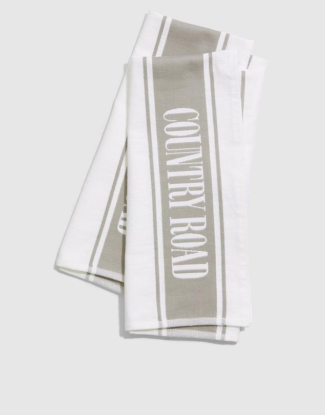 Life Australian Cotton Heritage Tea Towel Pack Of 2