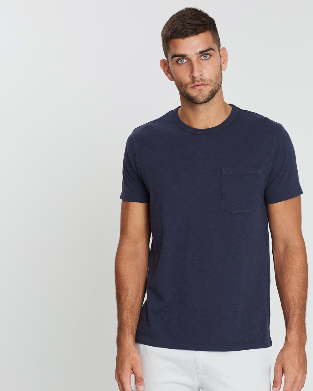 e31f8490c7489 Garment Dye Pocket Crew T-Shirt by J.Crew Online