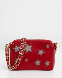 Belle & Bloom - Starry Eyes Leather Cross-body