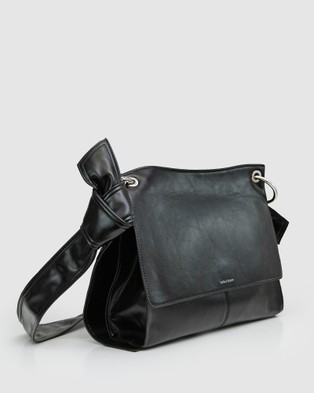 Belle & Bloom Better Together Messenger Bag - Satchels (Black)