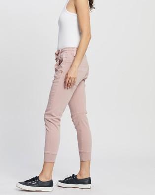 DRICOPER DENIM Active Jeans - Crop (Pink Clay)