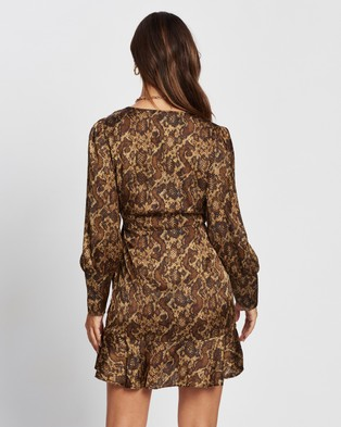 M.N.G Miss Dress - Printed Dresses (Light Beige)