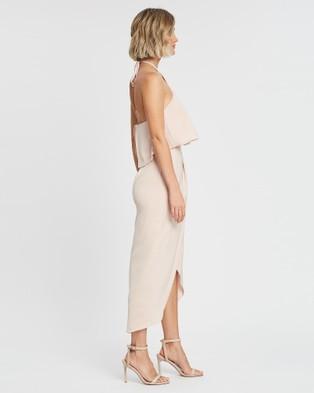 Esther Luxe Peony Dress - Bridesmaid Dresses (Blush)