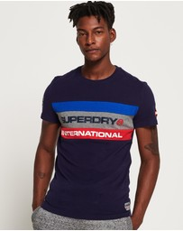 Superdry - Trophy Tri Colour T-Shirt