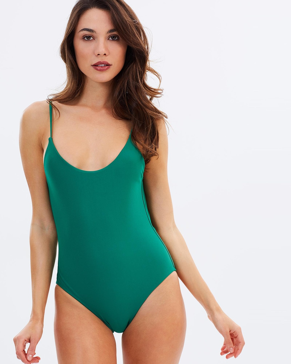 Tanliines The Lisa One Piece One-Piece / Swimsuit Green The Lisa One-Piece