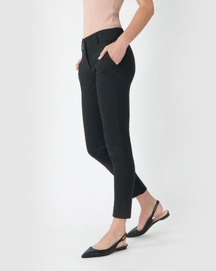 Forcast Taylor Slim Pants - Pants (Black)