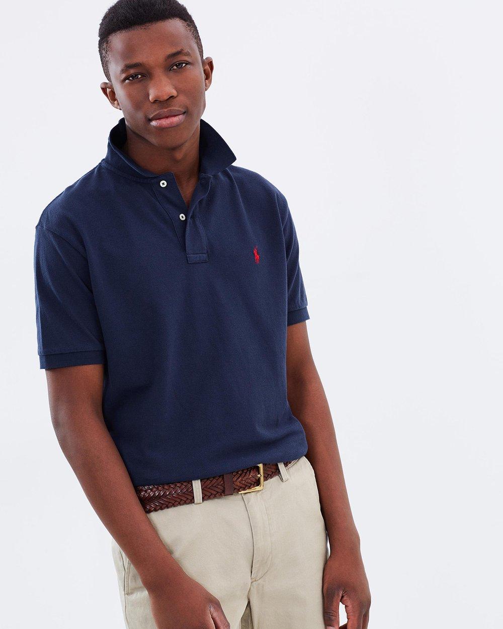 ba61018ce Classic-Fit Mesh Polo Shirt by Polo Ralph Lauren Online