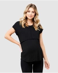 Ripe Maternity - Richie Nursing Tee
