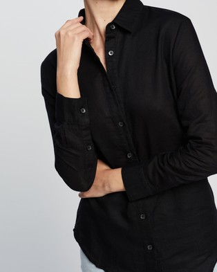 Nude Lucy Nude Classic Shirt - Tops (Black)
