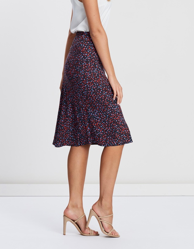 Marcs - Poppy Spot Printed Skirt