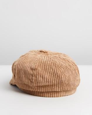 Ace Of Something Malborough Cap - Headwear (Sand)