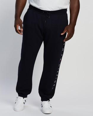 Tommy Hilfiger Plus Basic Branded Sweatpants - Sweatpants (Desert Sky)