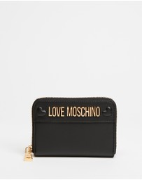 LOVE MOSCHINO - Small Zip Wallet