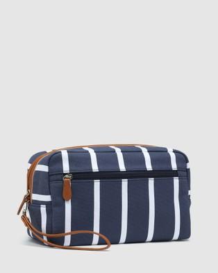 Oxford Elijah Washbag - Toiletry Bags (Green)