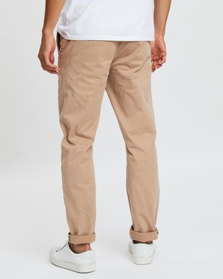 Academy Brand The Cooper Chinos - Pants (Coffee)
