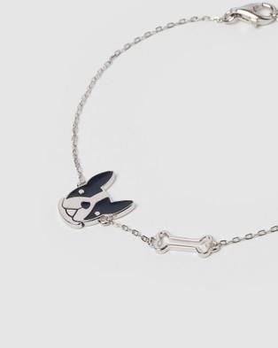 Izoa Kids Frenchie Bracelet - Jewellery (Silver)