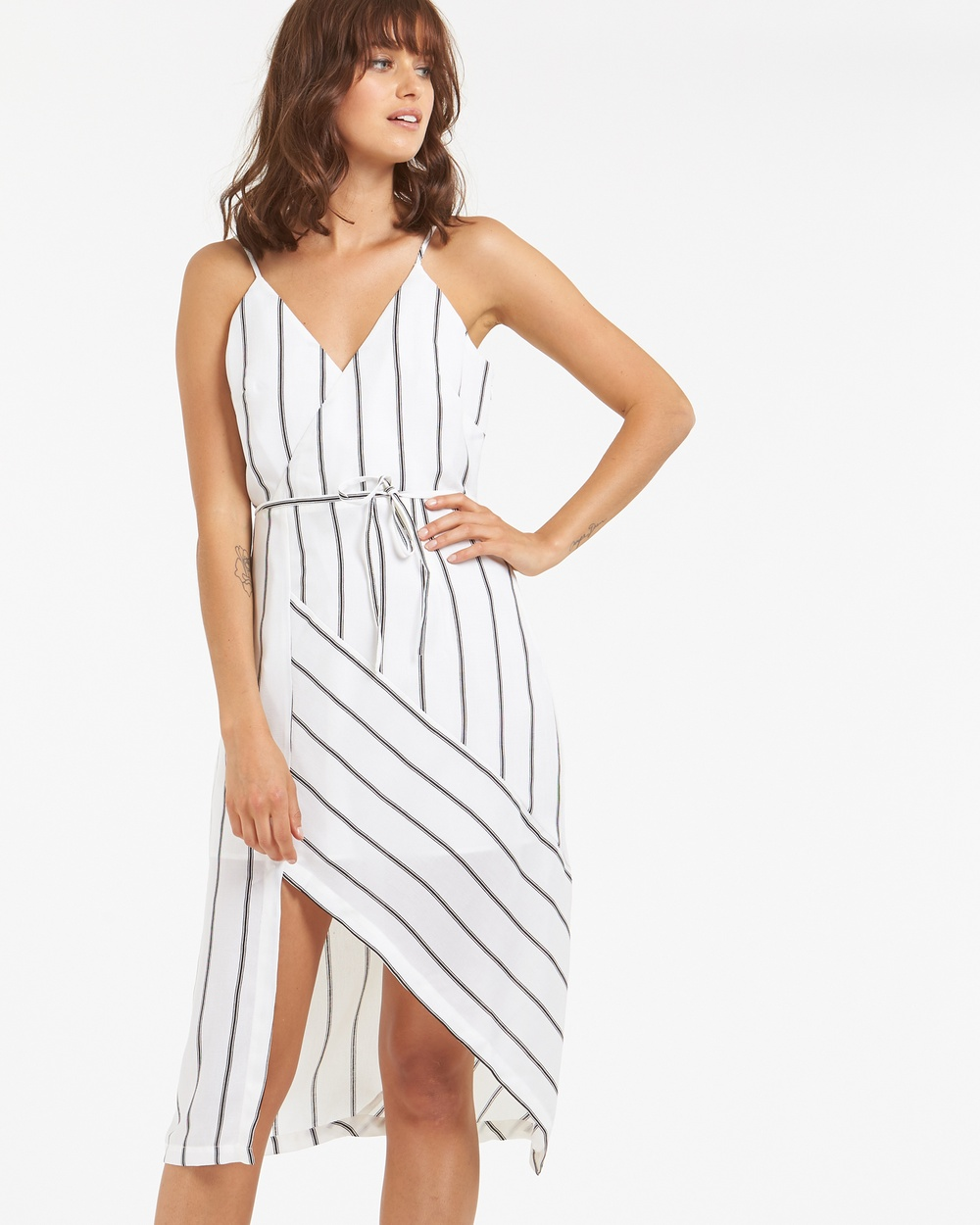 Amelius Groom Dress Dresses White-Stripes Groom Dress