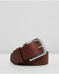Double Oak Mills - Casual Grain Leather 38mm Belt