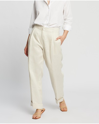 Assembly Label - Tailored Linen Pants