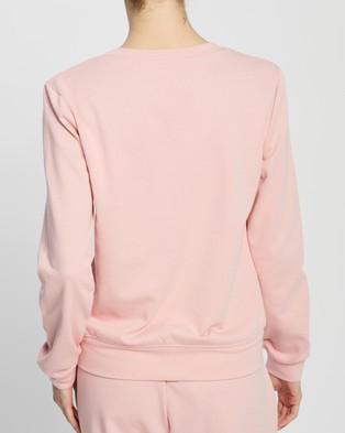 Atmos&Here Sofia Sweat Top - Sweats (Blush Pink)