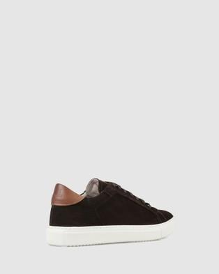 Brando - Bert Low Top Sneakers Casual Shoes (BROWN-200)