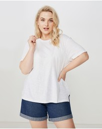 Cotton On - Curve Crew Neck Tee