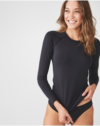 Cotton On Body - Callie Long Sleeve Swim Top