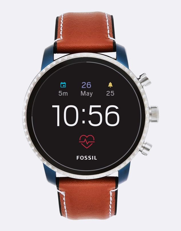 Fossil - Q Explorist Brown Smartwatch