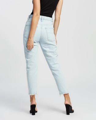 Nobody Denim Petite Petite Bessette Jeans - High-Waisted (Rockpool)