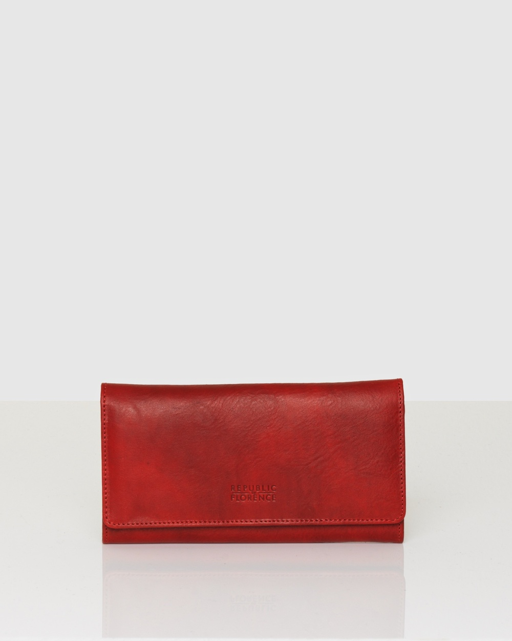 Florence Carmen Leather Wallet Wallets Red