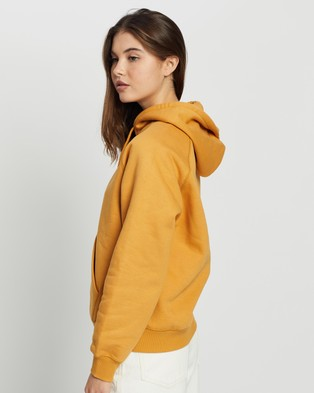 Carhartt - Hooded Chase Sweatshirt Hoodies (Winter Sun Gold)