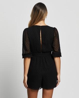 Atmos&Here Anya Playsuit - Jumpsuits & Playsuits (Black)