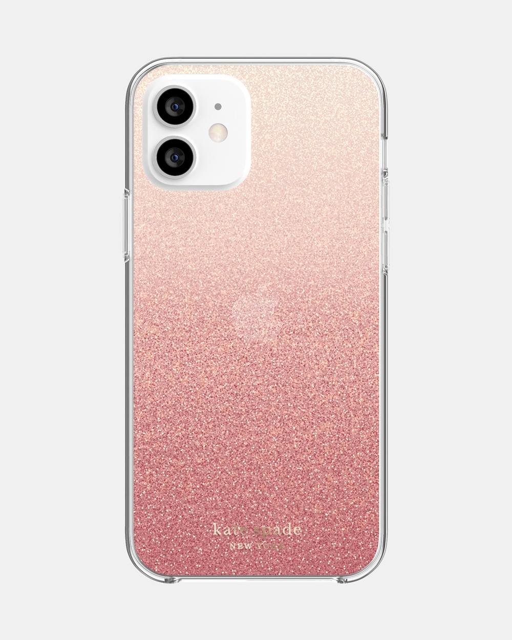 Kate Spade iPhone 12 & Pro Protective Case Tech Pink