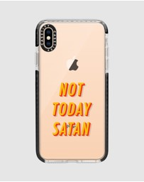 Casetify - Not Today Impact Protective Case for iPhone XS Max