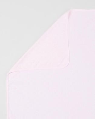 Bebe by Minihaha - Spot Layette Bunny Rug - Wraps & Blankets (Pink Circle) Spot Layette Bunny Rug