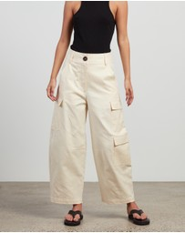 Lee Mathews - Esther Wide Leg Pants