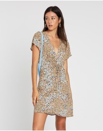 Cotton On - Woven Marisa Gathered Front Mini Dress