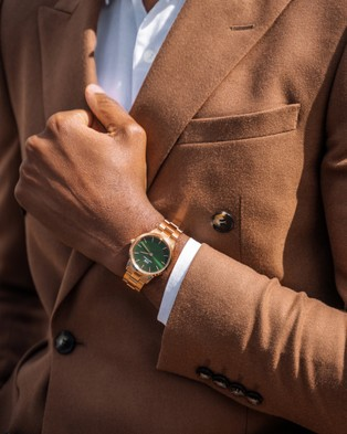 Daniel Wellington Iconic Link Emerald 36mm Watches Rose gold