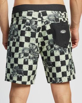 Rusty Renegade Boardshorts - Swimwear (Lime Green)