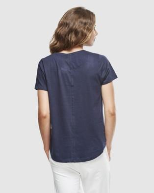 Cloth & Co. Organic Cotton Crew Neck T Shirt - T-Shirts & Singlets (French Navy)