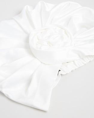 Max Alexander Fashion Turban - Headwear (Ivory)