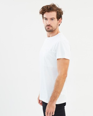 Kent and Curwen Chest Pocket T Shirt - T-Shirts & Singlets (White)