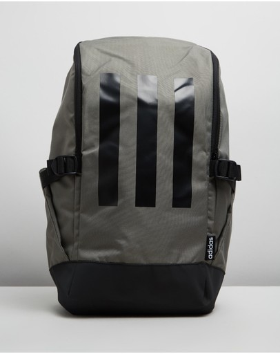 Adidas Performance 3-stripes Response Backpack Legacy Green Black & White