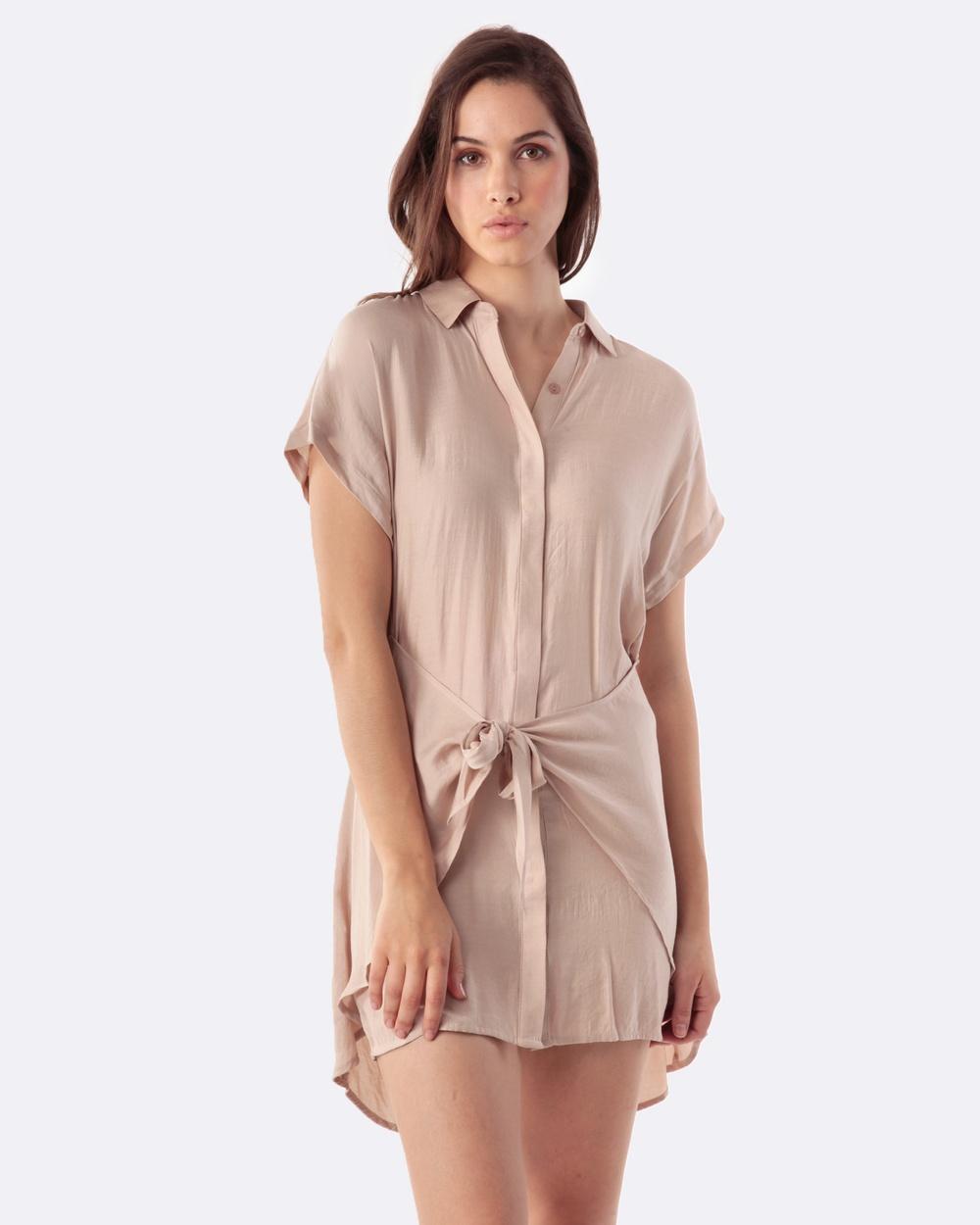 Amelius Pixie Dress Dresses Camel Pixie Dress