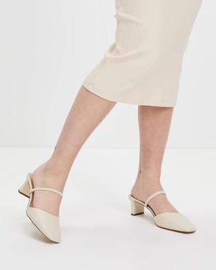 ALDO - Afean Heels - Mid-low heels (White) Afean Heels