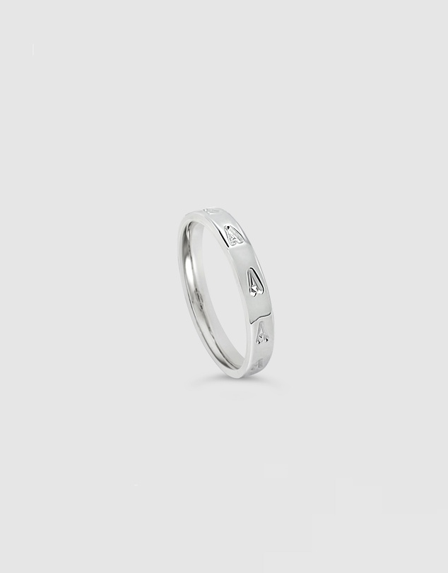 Women Personalised Letter A Ring
